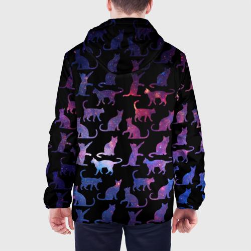 Мужская куртка 3D  Фото 05, Космические Коты