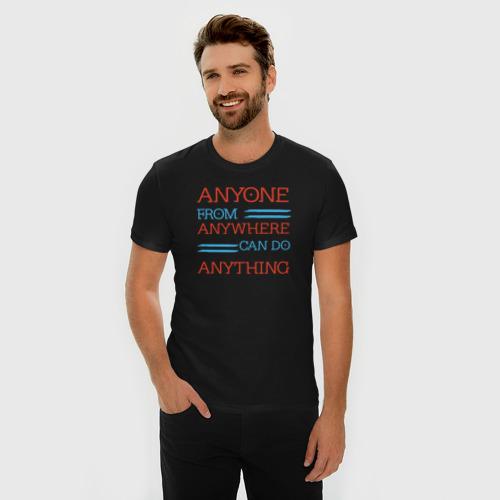 Мужская футболка премиум  Фото 03, Grammy Speech Quote