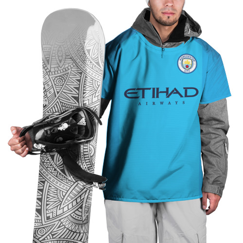 Накидка на куртку 3D  Фото 01, Man. City 18-19