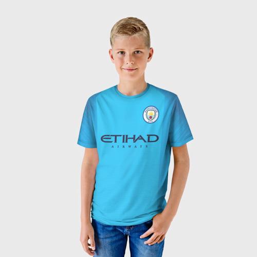 Детская футболка 3D  Kevin De Bruyne 18-19