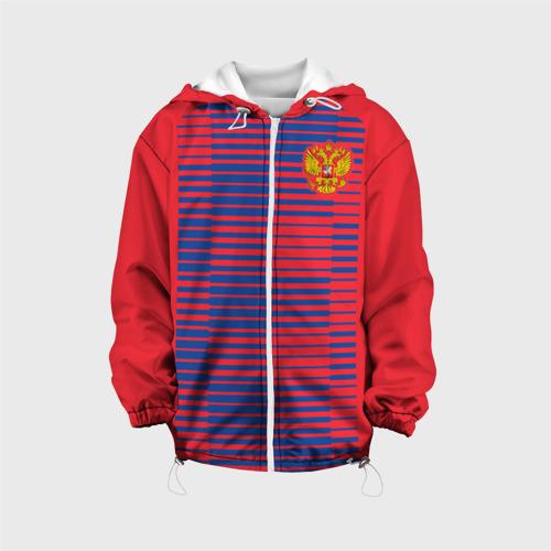 Детская куртка 3D  Фото 01, Russia WC Pre-match