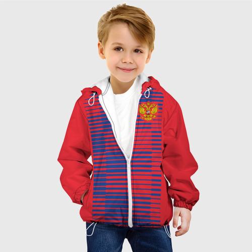 Детская куртка 3D  Фото 03, Russia WC Pre-match