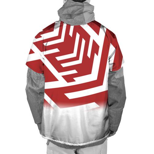 Накидка на куртку 3D  Фото 02, PATTERN RED