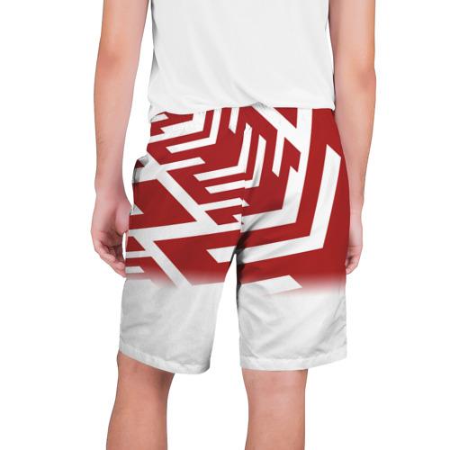 Мужские шорты 3D  Фото 02, PATTERN RED