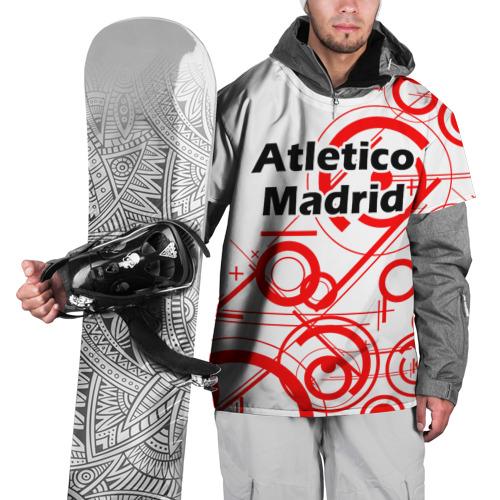 Накидка на куртку 3D  Фото 01, Atletico Madrid