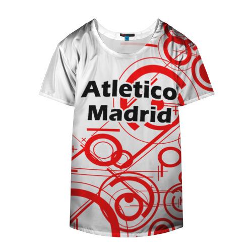 Накидка на куртку 3D  Фото 04, Atletico Madrid