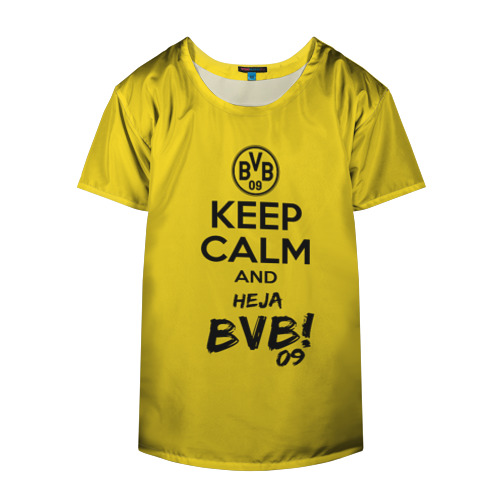 Накидка на куртку 3D  Фото 04, Keep calm and Heja BVB