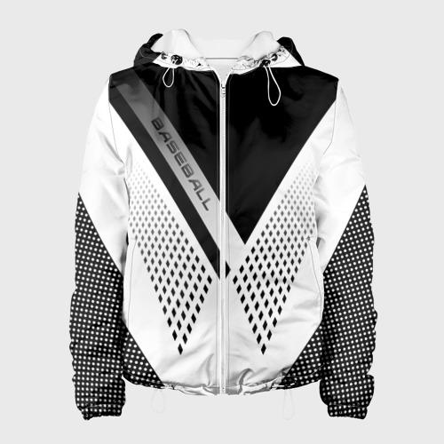 Женская куртка 3D  Фото 01, BASEBALL (бейсбол)