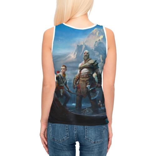 Женская майка 3D  Фото 04, God of War