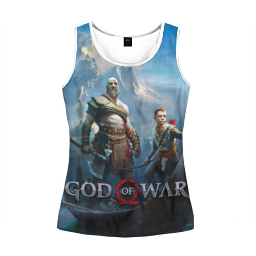 Женская майка 3D  Фото 01, God of War