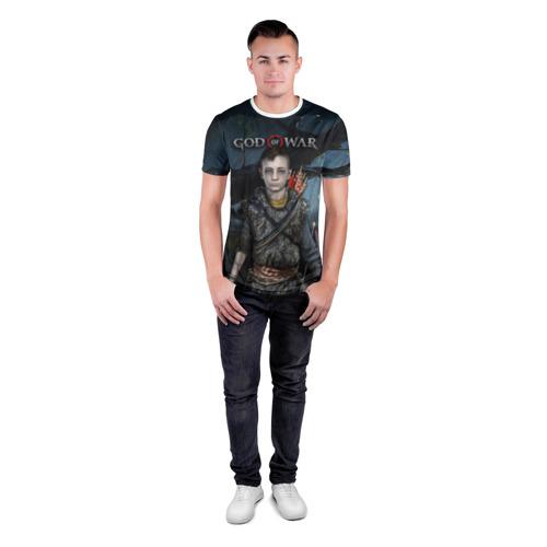 Мужская футболка 3D спортивная  Фото 04, Атрей