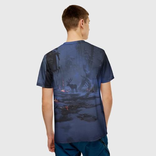 Мужская футболка 3D  Фото 02, Кратос