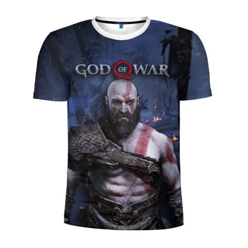 Мужская футболка 3D спортивная  Фото 01, Кратос