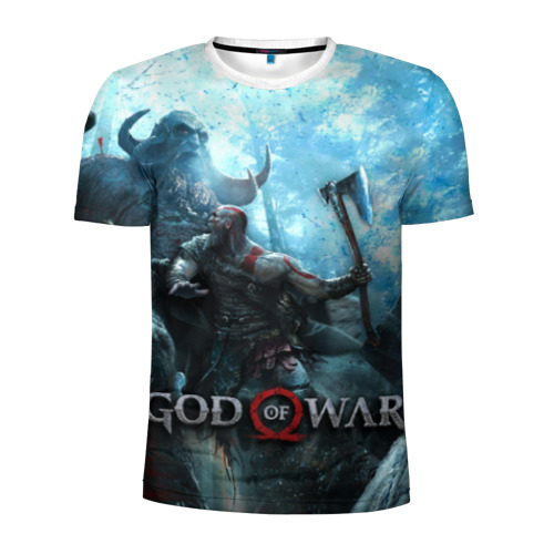Мужская футболка 3D спортивная  Фото 01, Kratos