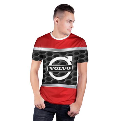 Мужская футболка 3D спортивная  Фото 03, VOLVO