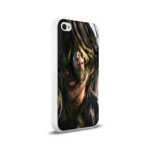 Чехол для Apple iPhone 4/4S силиконовый глянцевый  Фото 02, Мимир