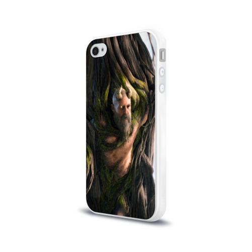 Чехол для Apple iPhone 4/4S силиконовый глянцевый  Фото 03, Мимир