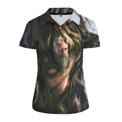 Женская рубашка поло 3D  Фото 01, Мимир