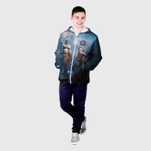 Мужская куртка 3D  Фото 03, Кратос и Атрей