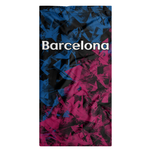Бандана-труба 3D  Фото 07, ФК Барселона