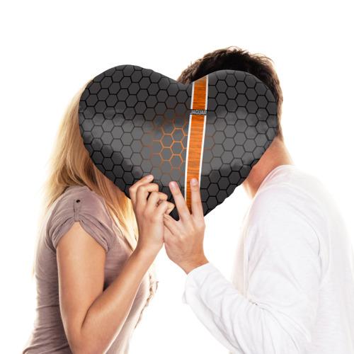 Подушка 3D сердце  Фото 03, Jaguar