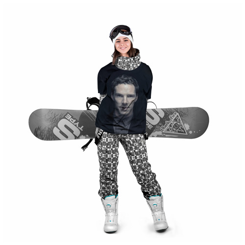 Накидка на куртку 3D  Фото 05, Cumberbatch