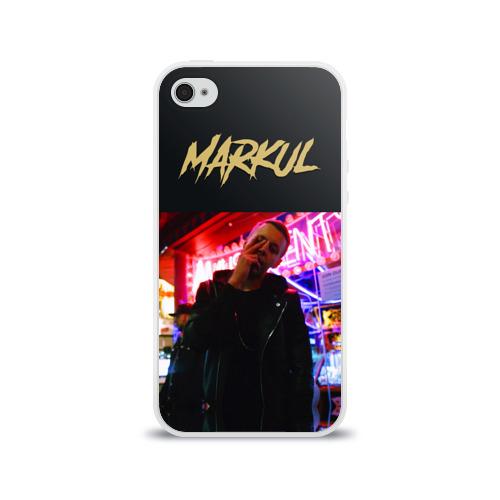 Чехол для Apple iPhone 4/4S силиконовый глянцевый  Фото 01, Markul_6