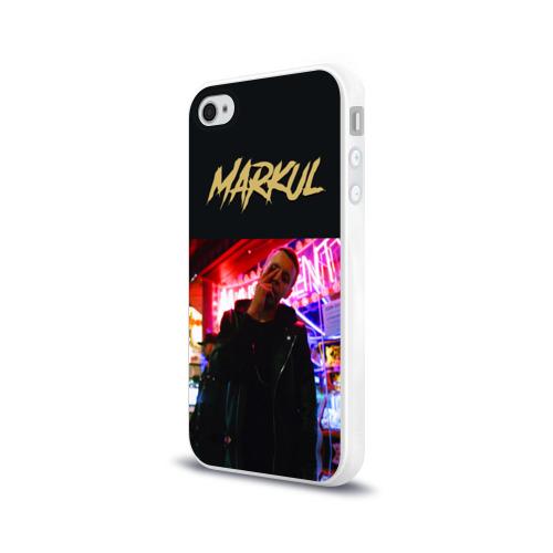 Чехол для Apple iPhone 4/4S силиконовый глянцевый  Фото 03, Markul_6