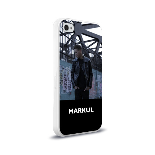 Чехол для Apple iPhone 4/4S силиконовый глянцевый  Фото 02, Маркул