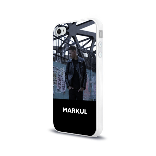 Чехол для Apple iPhone 4/4S силиконовый глянцевый  Фото 03, Маркул