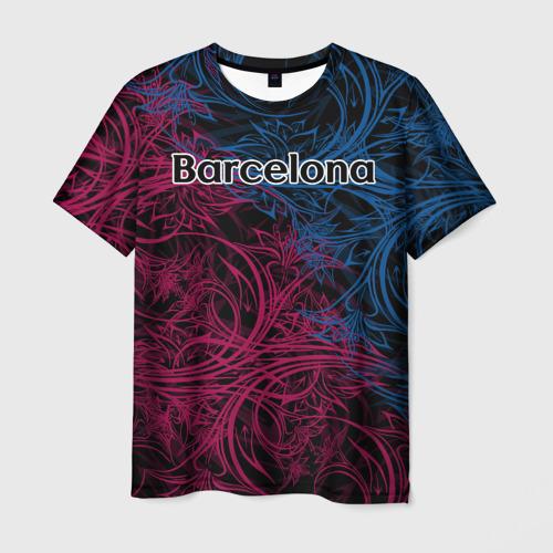 Мужская футболка 3D  Фото 03, FC Barcelona