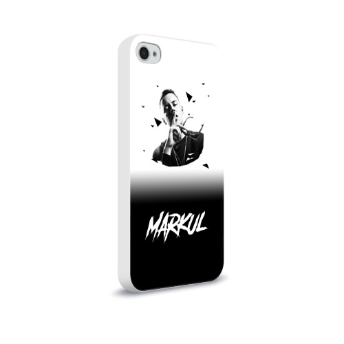 Чехол для Apple iPhone 4/4S soft-touch  Фото 02,  Markul