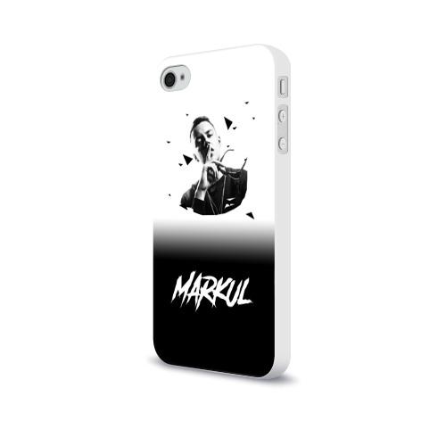 Чехол для Apple iPhone 4/4S soft-touch  Фото 03,  Markul