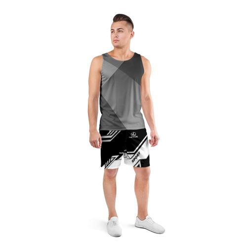 Мужские шорты 3D спортивные  Фото 04, LEXUS SPORT