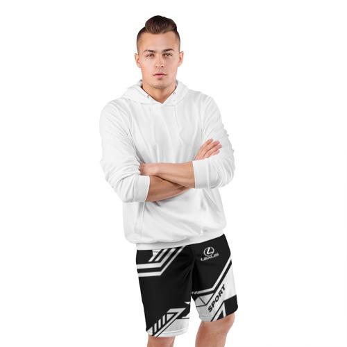 Мужские шорты 3D спортивные  Фото 05, LEXUS SPORT