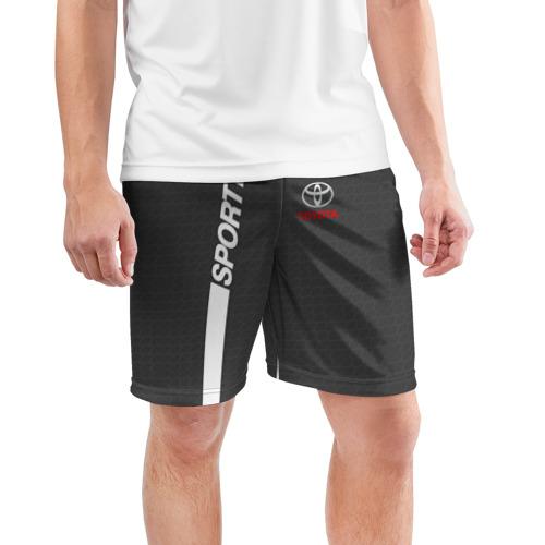 Мужские шорты 3D спортивные  Фото 03, TOYOTA SPORT