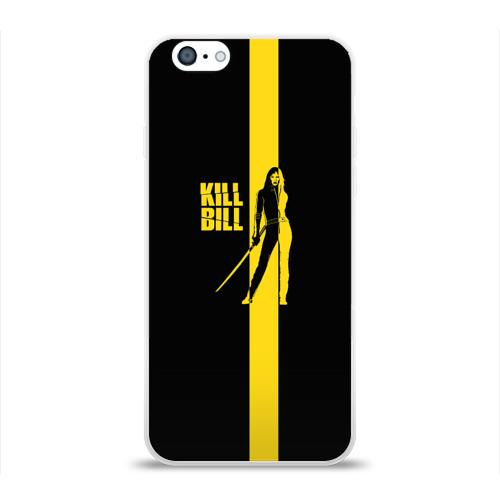 Чехол для Apple iPhone 6 силиконовый глянцевый  Фото 01, Kill Bill