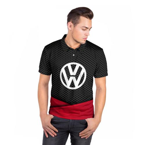 Мужская рубашка поло 3D  Фото 05, VOLKSWAGEN