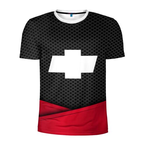 Мужская футболка 3D спортивная  Фото 01, CHEVROLET