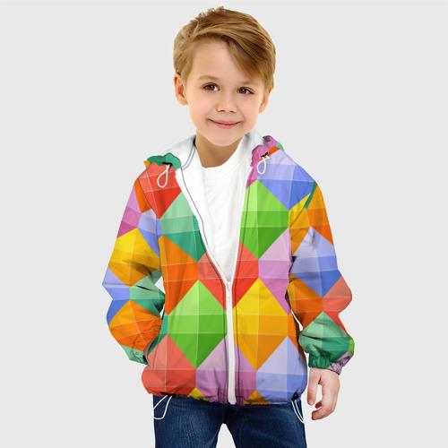 Детская куртка 3D  Фото 03, Ромбы