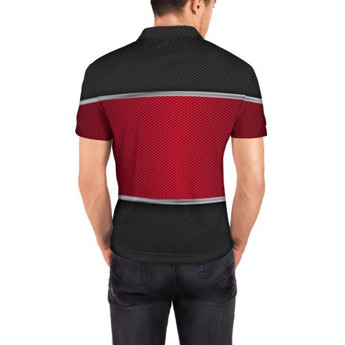 Мужская рубашка поло 3D LEXUS SPORT