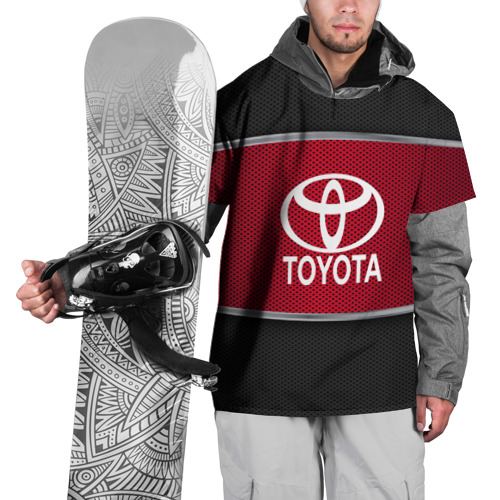 Накидка на куртку 3D  Фото 01, TOYOTA SPORT