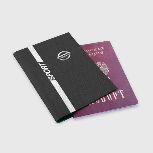 Обложка для паспорта матовая кожа  Фото 03, NISSAN SPORT