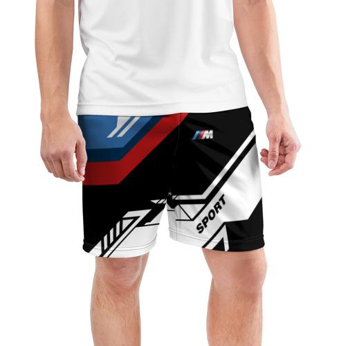 Мужские шорты 3D спортивные  Фото 03, BMW M SPORT
