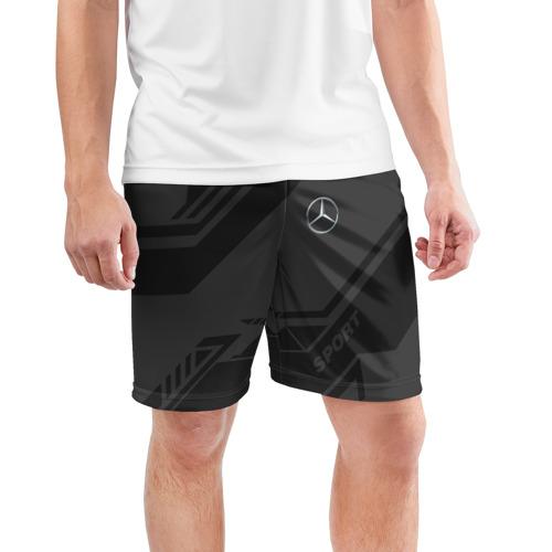 Мужские шорты 3D спортивные  Фото 03, MERCEDES SPORT