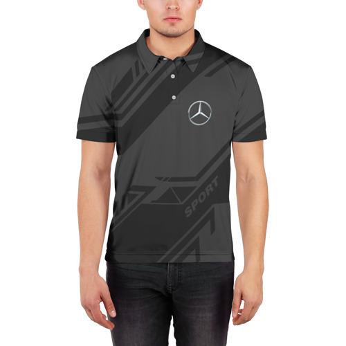 Мужская рубашка поло 3D  Фото 03, MERCEDES SPORT