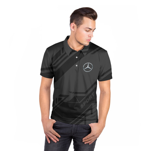 Мужская рубашка поло 3D  Фото 05, MERCEDES SPORT