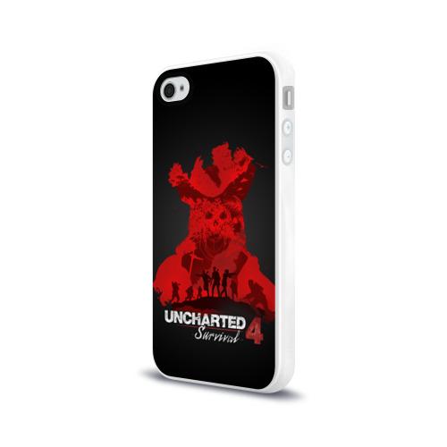 Чехол для Apple iPhone 4/4S силиконовый глянцевый  Фото 03, Survival