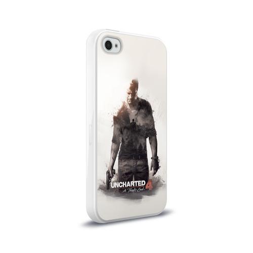 Чехол для Apple iPhone 4/4S силиконовый глянцевый  Фото 02, Nathan