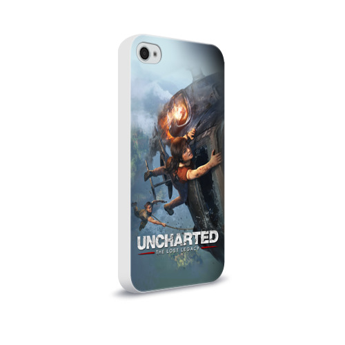 Чехол для Apple iPhone 4/4S soft-touch  Фото 02, Uncharted